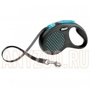 фото Flexi Design Рулетка Флекси Дизайн для собак M-L 5м*50кг (ремень)