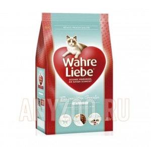 Wahre Liebe Mollige Варе Либе сухой корм для кошек с избыточным весом, стерилизованных кошек и кастрированных котов
