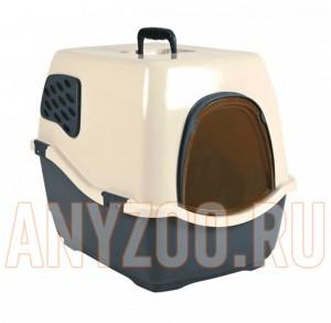 фото Marchioro Био - туалет BILL 1F для кошек закрытый с фильтром 50*40*42