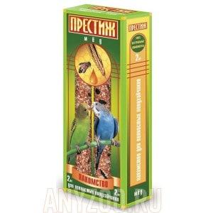 фото Престиж Жесткие палочки лакомство для волнистых попугаев с мёдом