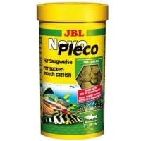 фото JBL NovoPleco Водорослевые чипсы с примесью целлюлозы для кольчужных сомов