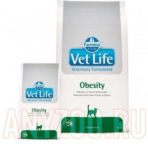 фото Farmina Vet Life Obesity Фармина  диета для кошек при ожирении