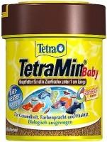 фото Tetra Min Baby Основной корм для  декоративных рыб размером меньше 1см  (микрохлопья)