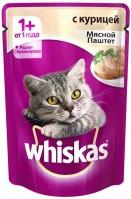 фото Whiskas Пауч для кошек Паштет Курица