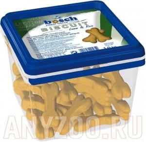Купить Bosch Biscuit Бош бисквиты для собак ягнёнок с рисом