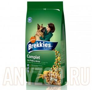 фото Brekkies Dinner Сухой Корм для Собак Готовый обед