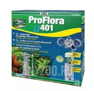 фото JBL ProFlora u401 Система СО2 для аквариумов от 50 до 400 литров со сменным баллоном 500г