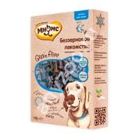 Купить Мнямс Grain Free Беззерновое гипоаллергенное полувлажное лакомство с лососем для собак