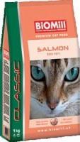 фото Biomill Cat Classic Salmon Биомил сухой корм для кошек с Лососем