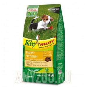 фото Kiramore Puppy Medium Кираморе сухой корм для щенков средних пород с курицей