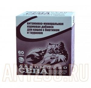 фото Ceva Витаминно-минеральная кормовая добавка для кошек с биотином и таурином