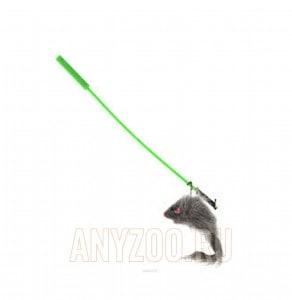 фото VIPet Дразнилка-удочка с игрушкой мышь