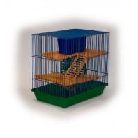Зоомарк Клетка для грызунов 3-х этажная,  арт 130