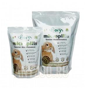 Купить Fiory Фиори Micropills Dwarf Rabbits корм для карликовых кроликов старше 7 лет