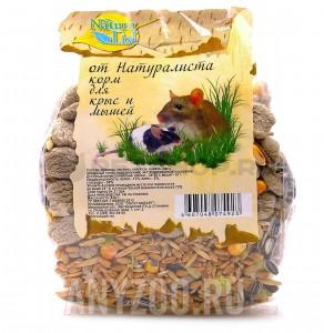 фото Naturalist Натуралист корм для мышей и крыс основной рацион