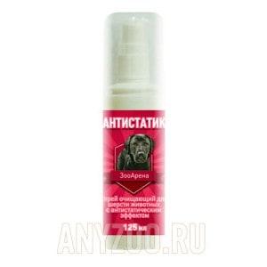 Пчелодар антистатик спрей очищающий для шерсти животных с антистатическим эффектом