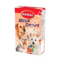 фото Sanal Milk Drops Санал Молочные дропсы с витаминами A, C, D, E
