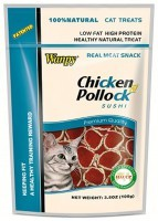 фото Wanpy Cat CC-05S Лакомство для кошек Суши Курица с сайдой