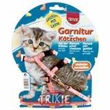 фото Trixiе 4181 шлейка д/котят нейлон с рисунком