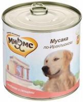 Мнямс Консервированный корм для собак Мусака по-Ираклионски,  ягненок с овощами