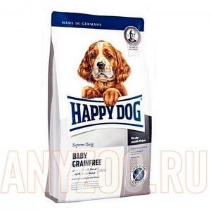 Купить Happy Dog Baby Grainfree Хэппи Дог Беззерновой корм для щенков всех пород от 1 до 6 месяцев