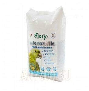 Купить Fiory Фиори Micropills Amazzoni/Cacatua  корм для амазонских попугаев и какаду