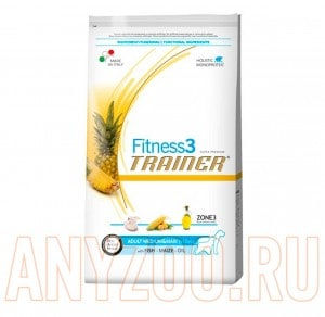 Trainer Fitness 3 Adult Medium/Maxi Fish&Maize