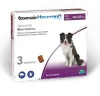 Frontline - Фронтлайн НексгарД таблетки жевательные от блох и клещей для собак от 10 до 25кг 3*68мг