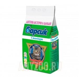 Барсик Стандарт впитывающий наполнитель для кошек