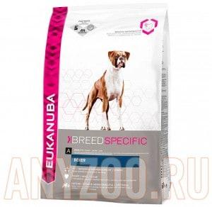 фото Eukanuba Dog BN Boxer - Эукануба сбалансированный корм для собак породы Боксер