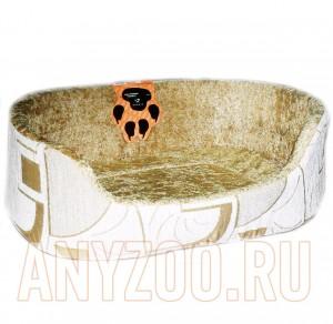 Догман Лежак овальный с бортом для собак и кошек