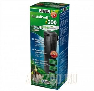 фото JBL CristalProfi i200 greenline Внутренний угловой фильтр для аквариумов 130-200 литров, 300-720 л/ч