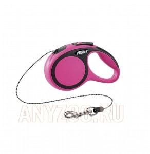 фото Flexi New Comfort рулетка для собак, размер XS, 3м*8кг, трос