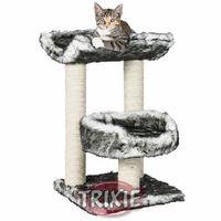 фото Trixiе домик для кошек Isaba,  черный/белый 62см