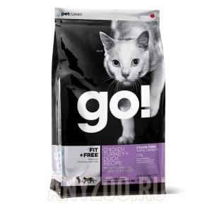 фото GO!Natural Holistic беззерновой сухой корм для котят и кошек 4 вида мяса