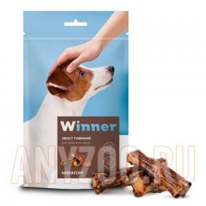 Мираторг Winner лакомство для собак Хвост говяжий охлажденный дой пак