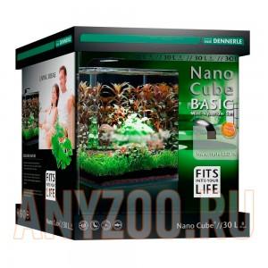 Купить Dennerle NanoCube Basic 30 Style LED M - Нано-аквариум с базовым комлектом для установки и светильником Nano Style LED M