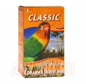 Купить Fiory Classic Фиори корм для средних попугаев