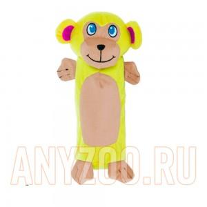 Купить Petstages Ботл Гиглерс Игрушка для собак текстильная с бутылкой Обезьянка