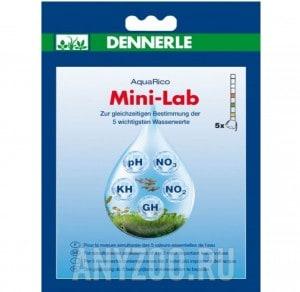 Купить Минилаборатория Dennerle MiniLab для тестирования 5-ти показателей пресной аквариумной воды