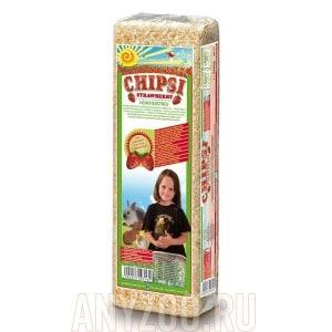 Купить Chipsi Strawberry Наполнитель для грызунов - Опилки древесные ароматизированные Яблоко
