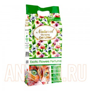 Indian Cat Litter Natural Exotic Flowers