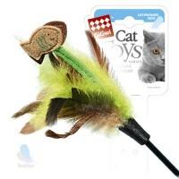 фото GiGwi Дразнилка для кошек с рыбками на длинной палке