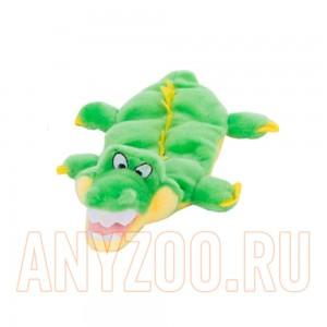 Купить Petstages Игрушка для собак текстильная Сквикер Матс Крокодил с 6 пищалками