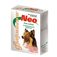 Фармавит Neo Витамины  для собак Совершенство шерсти