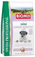 Biomill Swiss Professional Mini Junior Sensitive Lamb