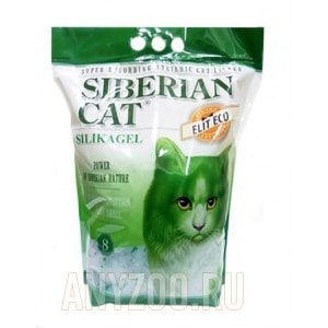 Сибирская Кошка Элита ЭКО силикагелевый наполнитель для кошек