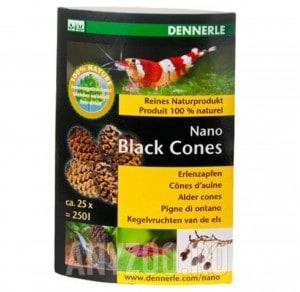 Купить Dennerle Nano Black Cones Ольховые сережки, 25 шт
