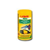 фото Sera Flora  Корм для рыб хлопьевидный растительный корм со спирулиной для всех растительных рыб
