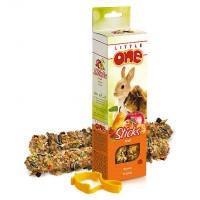 фото Little One Палочки зерновые, медовые для морских свинок, кроликов и шиншил с фруктами
